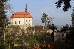 Château de Waldstein Photos stock