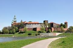 Château de Wawel à Cracovie, Pologne Photos libres de droits