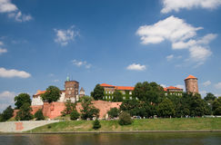 Château de Wawel à Cracovie, Pologne Photo stock