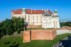 Château de Wawel à Cracovie, Pologne Photos stock