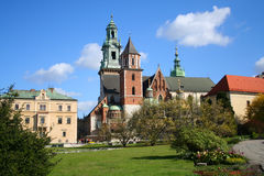Château de Wawel. Cracovie. La Pologne. Photo libre de droits
