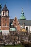 Château de Wawel. Cracovie, Pologne. Photographie stock libre de droits