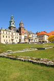 Château de Wawel, Cracovie, Pologne Photo stock