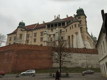 Château de Wawel, Cracovie, Pologne Photos stock