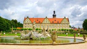 Château de Weikersheim. photos stock
