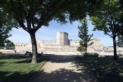 Château de Zamora Photos libres de droits