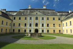 Château de Zdar NAD Sazavou Photos libres de droits