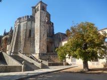 Château des chevaliers - Tomar - Portugal photographie stock libre de droits
