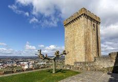 Château des comptes de lemos en Monforte de Lemos photos libres de droits