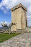 Château des comptes de lemos en Monforte de Lemos images libres de droits