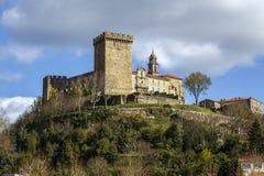 Château des comptes de lemos en Monforte de Lemos photographie stock