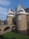 Château des ducs de Brittany, Nantes, France. photographie stock libre de droits