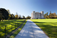 Château Dorset de Lulworth photographie stock libre de droits