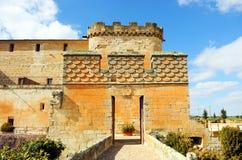 Château du bon amour à Topas, Salamanque, España Photographie stock libre de droits