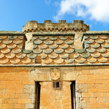 Château du bon amour à Topas, Salamanque, España Image stock