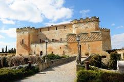 Château du bon amour à Topas, Salamanque, España Photo stock