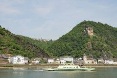 Château du Rhin photo libre de droits