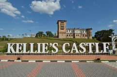 Château du ` s de Kellie image libre de droits