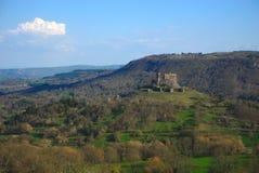 Château du ` s de Murol image libre de droits