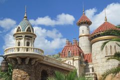 Château du ` s de prince Eric à Orlando, la Floride image libre de droits