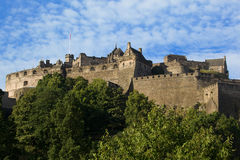 château Edimbourg Images stock