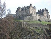 château Edimbourg Image libre de droits