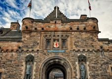 château Edimbourg Ecosse Photo libre de droits