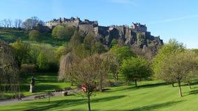 château Edimbourg Ecosse Image stock