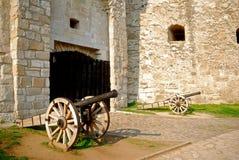 Château, Eger, Hongrie Photos stock