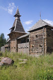 Château en bois féerique Photo libre de droits