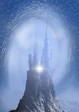 Château en ciel images libres de droits