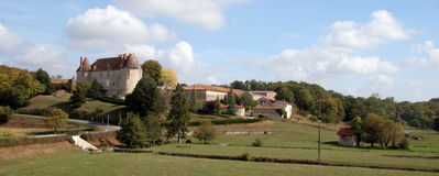 Château en France Photographie stock libre de droits