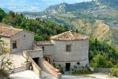 Château en Italie Photos stock