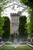 Château en péninsule d'otago de Dunedin image libre de droits
