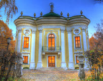 Château en parc d'automne Photo stock