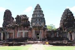 Château en pierre antique en Thaïlande Images stock