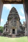 Château en pierre antique en Thaïlande photo stock
