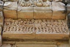 Château en pierre antique en Thaïlande image libre de droits