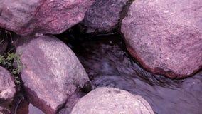 Château en pierre de rivière banque de vidéos
