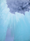 Château et ciel de glace dans New Hampshire Photos libres de droits