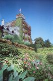 Château et jardin Photographie stock libre de droits