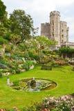 Château et jardin de Windsor Photographie stock libre de droits