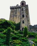 Château et jardins de cajolerie Photo stock