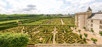 Château et jardins de Villandry stock photography