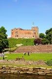 Château et jardins, Tamworth photo libre de droits