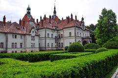 Château et parc photographie stock libre de droits