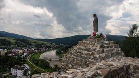 Château et parc de Muszyna en Pologne Photo libre de droits