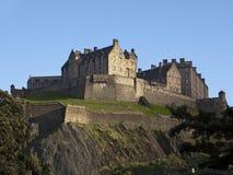 Château et remparts d'Edimbourg photographie stock libre de droits