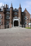 Château et ses environs Photo stock