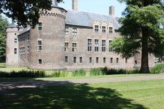 Château et ses environs aux Pays-Bas Images stock